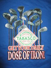 "HILTON HEAD South Carolina TABASCO ""Get Your Daily DOSE OF IRON"" (LG) T-Shirt"