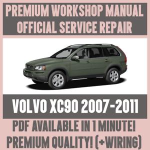 workshop manual service repair guide for volvo xc90 2007 2011 rh ebay com au volvo repair instructions Volvo XC90 Propeller Shaft