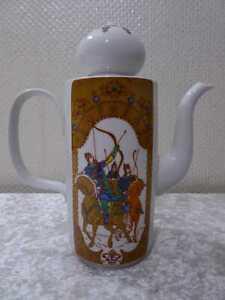 Kaffeekanne DDR Reichenbach Bone China Porzellan - Vintage - um 1970