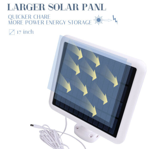 188LED Security Detector Solar Light Motion Sensor Outdoor Floodlight Waterproof