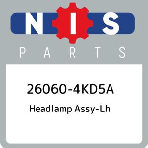 26060-4KD5A-Nissan-Headlamp-assy-lh-260604KD5A-New-Genuine-OEM-Part