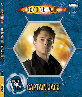 """AS NEW"" Justin Richards, Captain Jack (Doctor Who Files 10), Book"