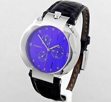 Movado Men's Eliptica Chronograph Blue Dial Sapphire Crystal Watch