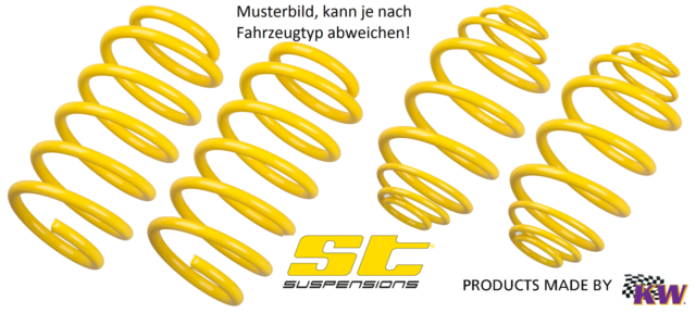 ST Tieferlegungs Sportfedern 28280384 VW Bus / Transporter T5 (7HM)