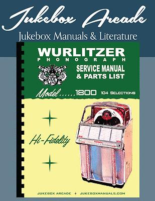 Wurlitzer Models 24 and 24A Service Manual Diagnosis Charts /& Color Brochure