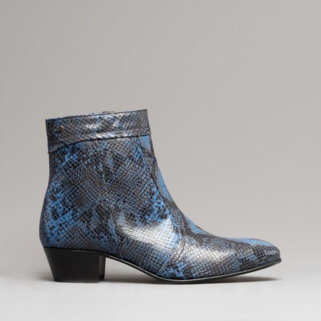 Stivali da uomo blu con cerniera | Acquisti Online su eBay