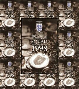 Sainsburys-World-Cup-1998-England-Football-Squad-Single-Coins-Various-Players
