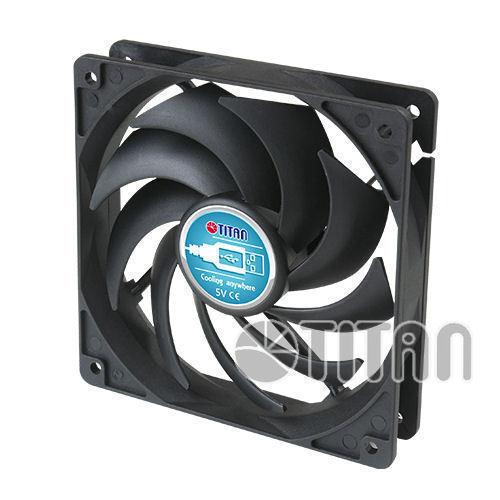 Titan TFD-9225L05Z DC5V 92x92x25mm USB External Fan
