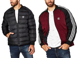 Details about Adidas Originals Superstar Bomber Winterjacke Herren Jacke Warm Schwarz 2in1