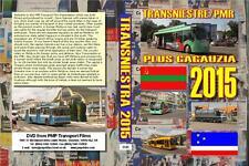 3149. Tiraspol, Bender, Comrat. Moldova. Trolleybuses, Buses,July 2015.Two of Eu