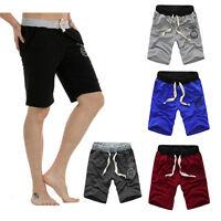 Men's Casual Cotton Shorts Pants Gym Trousers Sport Jogging Trousers