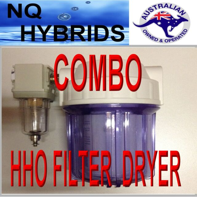 HHO  COMBO GAS FILTER AND DRYER     A 4WD MUST Latest edition 2017 updated model