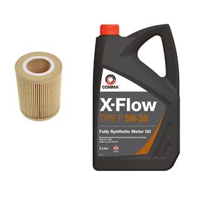 Long-Life-Oil-5w30-Filter-BMW-3-Series-330-xi-2979cc-170KW-Petrol