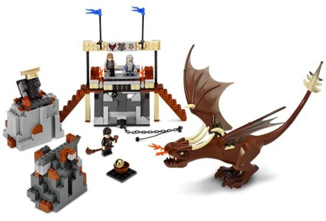 LEGO 4767 - HARRY POTTER - Harry  and the Hungarian Horntail - 2005 - VERY RARE  gros pas cher