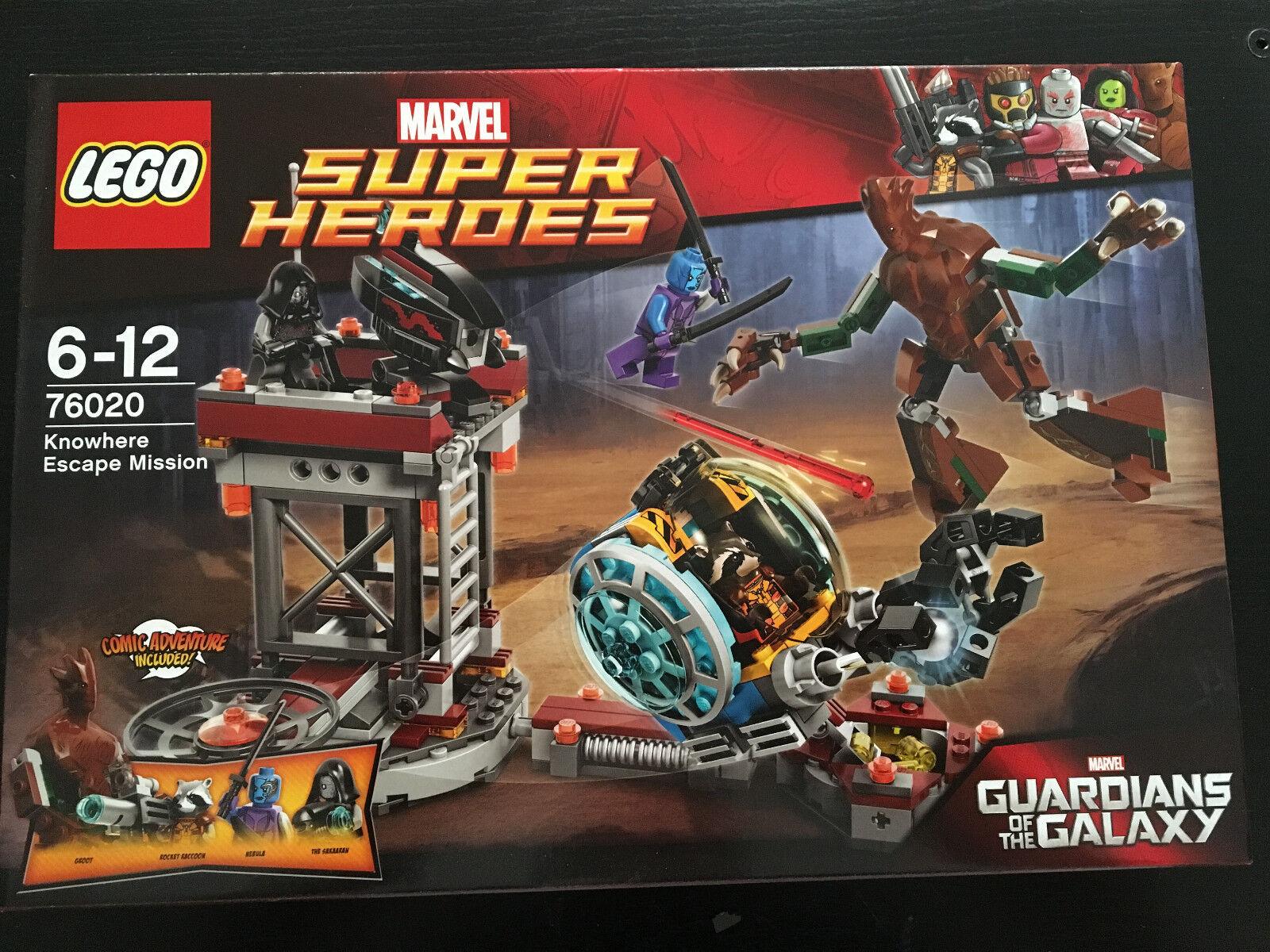 LEGO 76020 gardiens of the Galaxy Knowhere Escape la grande épidémie New