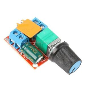 3v 35v 12v 24v dc motor pwm speed control controller speed for Fan motor speed control switch