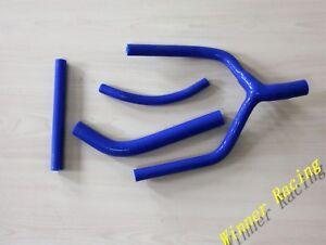 For YAMAHA YZ125 1993-1994-1995 Silicone Radiator Coolant Hose Blue