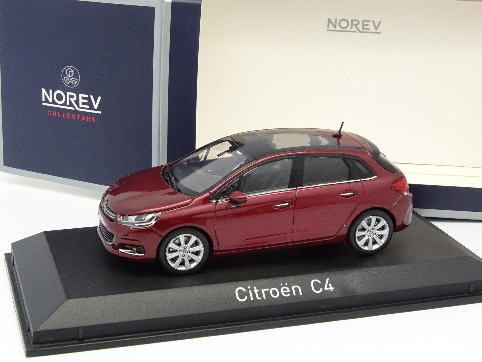 Norev 1 43 - Citroen C4 2015 Rouge