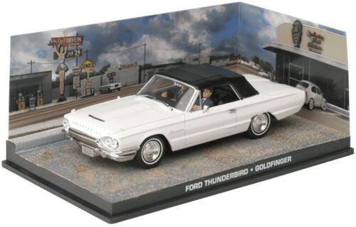 Ford Thunderbird James Bond 007 Goldfinger 1:43 Voiture Model Car DY042