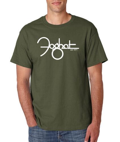 FOGHAT Rock Band T-Shirt Classic Vintage UK English Rock Band S-6XL Cotton Tee