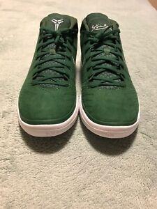 0d2ec82a3f4 Nike Kobe AD TB Promo Basketball Gorge Green Met Silver 942521-303 ...