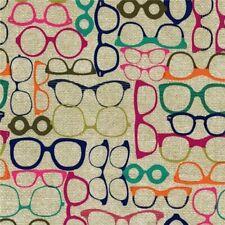 1m 20//20 Jewel fabric PER METRE Michael Miller mod glasses hipster novelty fu...