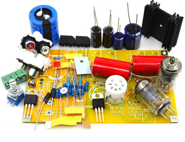 6j1 Tube Preamplifier Kit DIY Vacuum Pre Amp Board Prt-01a