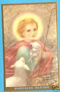 Vintage-Catholic-Holy-Card-Little-Jesus-the-Shepherd-Mother-Nealis-art