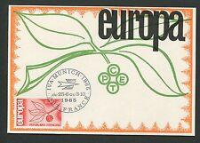FRANCE MK 1965 EUROPA CEPT IVA MUNICH MAXIMUMKARTE CARTE MAXIMUM CARD MC d5317