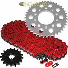 Red O-Ring Drive Chain & Sprockets Kit Fits HONDA CBR1000F Hurricane 1987 1988