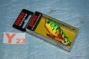 Leurre de surface RAPALA SKITTER POP 5cm FIRETIGER neuf
