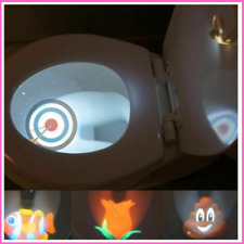 Toilet Target - Motion Sensitive Toilet Light - Helps Potty Train Toddlers NEW