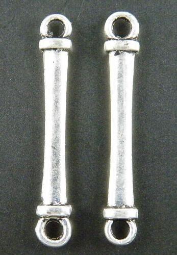 150pcs Tibetan Silver Long Bar Connectors 31.5x5x2mm 11