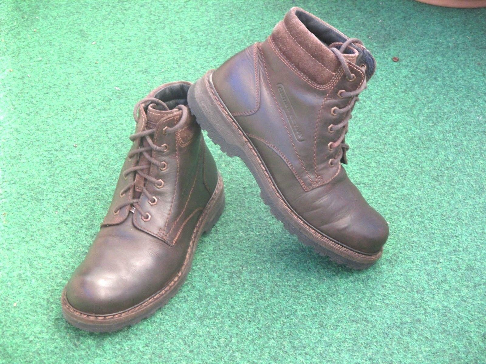 CAMEL aktiva Ranger GTX Gore Tex Boots Wintersschuhe gefüttert Leder braun Gr 42