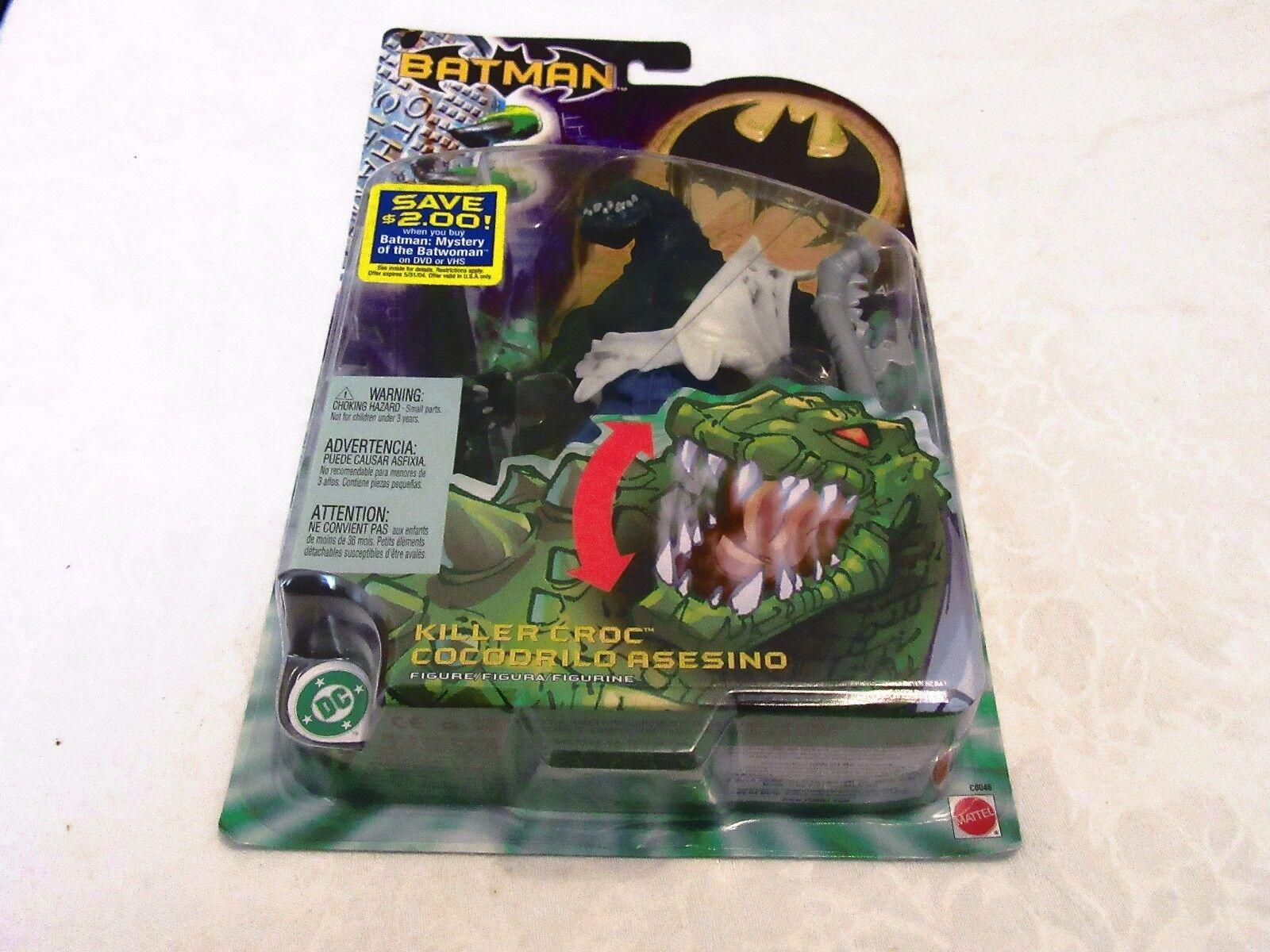 Mattel Batman Killer Croc DC 2003 Action Figure