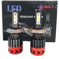 New Pair H4 270W 27000LM CREE LED Headlight Kit High / Low Beam Bulbs 6000K 2pcs