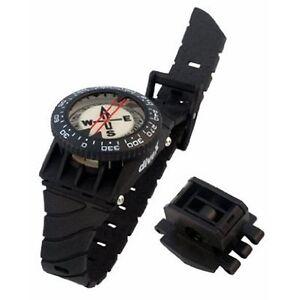 Scuba-Dive-Underwater-Hose-amp-Wrist-Mount-Compass-Gauge