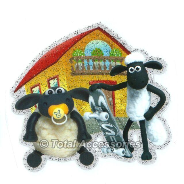 Sheep House - Iron On T-Shirt Glitter Heat Transfer -NEW