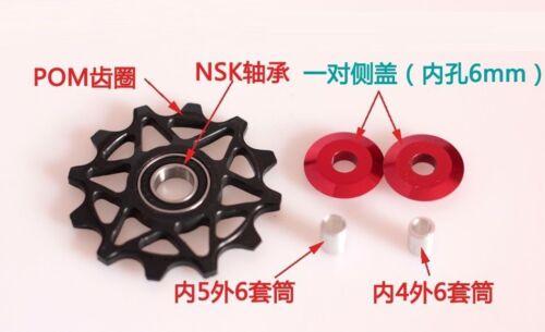 2pcs 12T Jockey Wheel for Shimano SRAM XX1 Bicycle Rear Derailleur Pulley