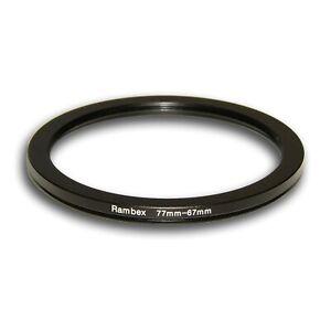 Adaptador filtro step-down anillo adaptador 77mm-67mm 77-67