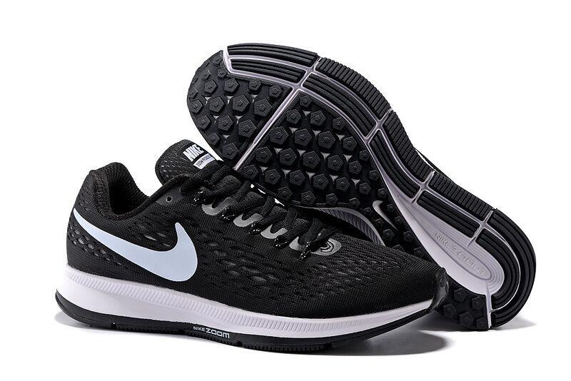 Nike Air Zoom Pegasus 11,5 34 negro / blanco talla 11,5 Pegasus nuevo eb1a12