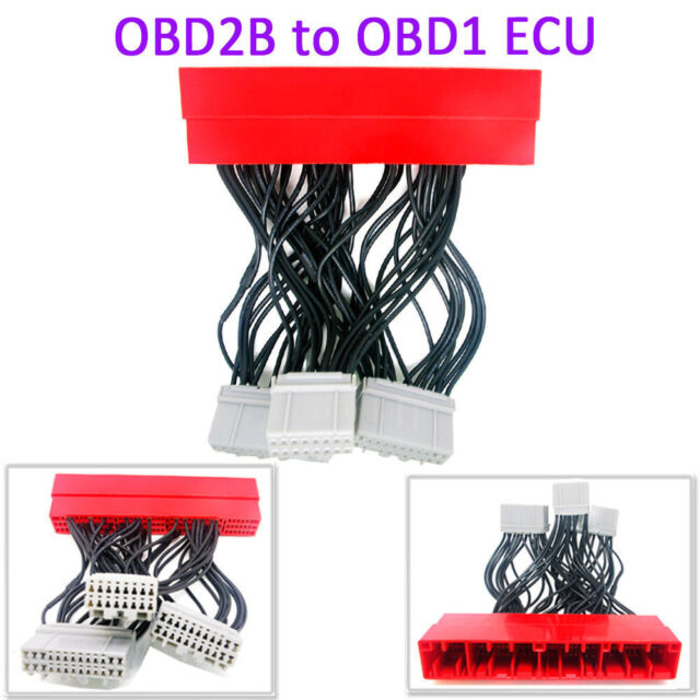 New OBD2B To OBD1 ECU Conversion Jumper Harness For 2000