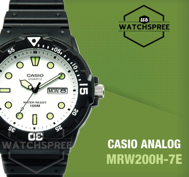 Casio Diver Look Analog Watch MRW200H-7E AU FAST & FREE