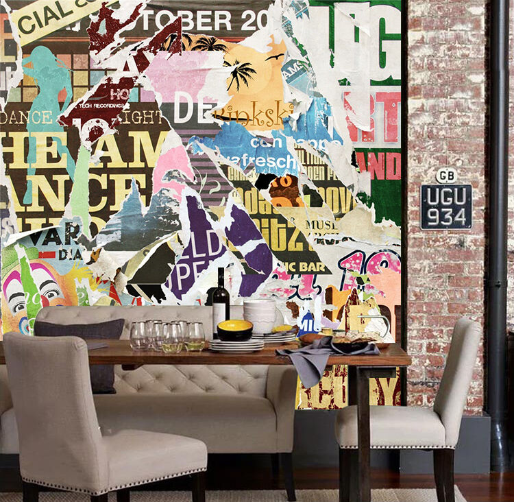 3D Farbeful Posters 1587 Paper Wall Print Wall Decal Wall Deco Indoor Murals