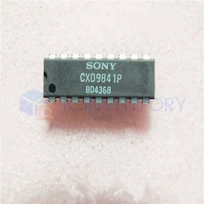 1PCS CXD9841P Encapsulation:DIP18,Single-Chip FaxEngine Product Family