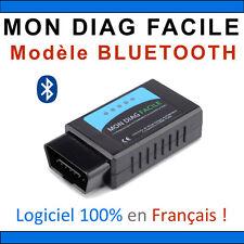 MON DIAG FACILE - ELM327 - Version BLUETOOTH - Fabrication Française - Valise