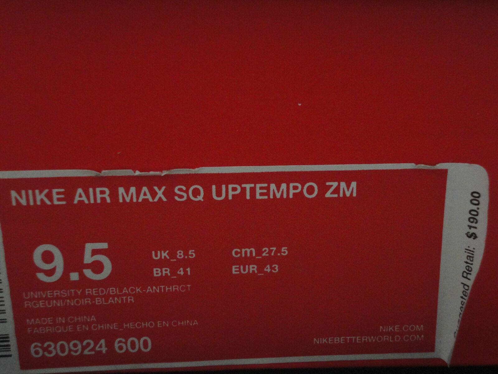 nike air max und uptempo zm, uptempo - 2, der 9,5 luft, den 190, größe 9,5 der c2fe3f