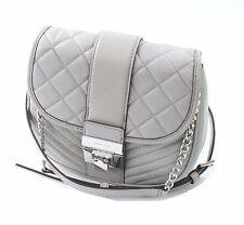 Michael Kors Elisa Leather / cross body Bag Pearl Grey RRP £240