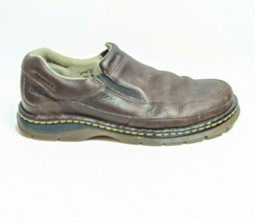 Dr Martens Brown leather loafers mens US size 11M