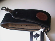 LEVY'S SIGNATURE SERIES SUEDE LEATHER GUITAR STRAP MSS3-BLK - BLACK - NEW!!